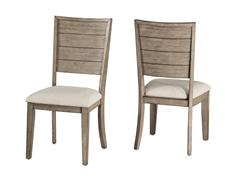 ARABELLA SIDE CHAIR - SET OF 2 - DISTRESSED GRAY