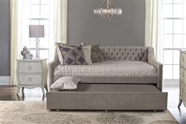 Jaylen Complete Twin-Size Daybed with Trundle, Silver