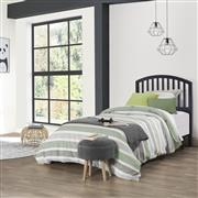 1592HTWR_LIF1_CAROLINA TWIN SIZE HEADBOARD - BLACK