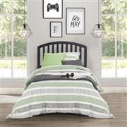 1592HTWR_LIF2_CAROLINA TWIN SIZE HEADBOARD - BLACK