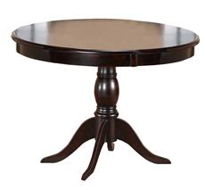 Bayberry Round Dining Table, Dark Cherry