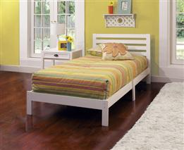 AIDEN TWIN BED IN ONE - WHITE