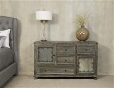 Bolt Dresser - Light Graywash