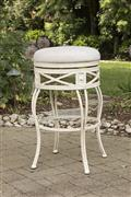 Callen Backless Indoor/Outdoor Bar Stool – White Washed