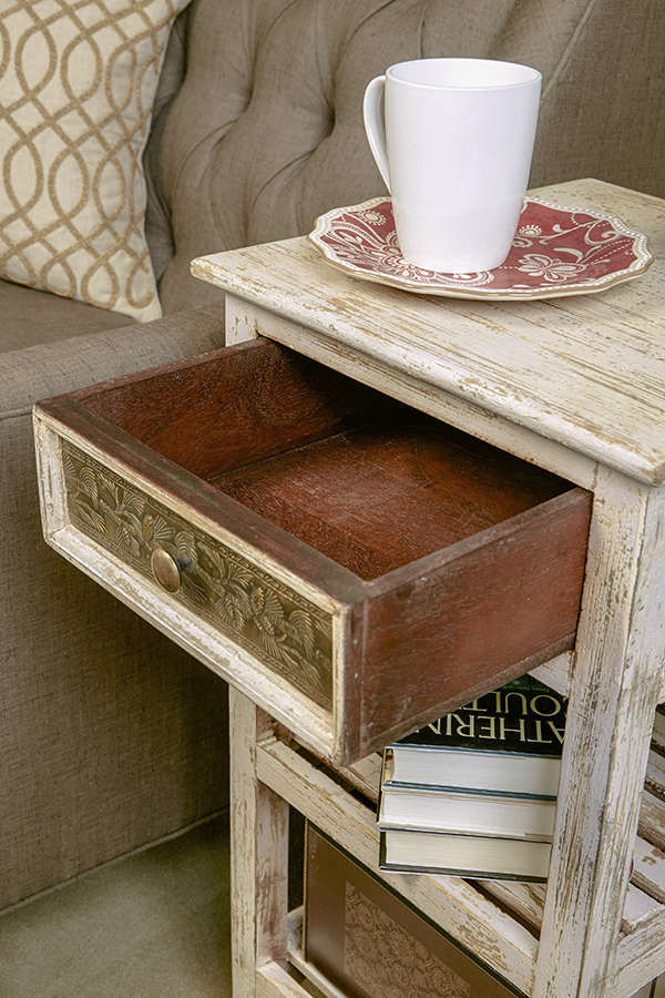 Alena Accent Stand - Drawer Interior
