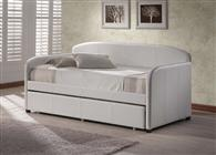 Springfield White Daybed with Trundle